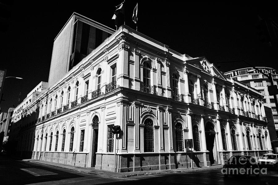 Palacio Photograph - palacio larrain zanartu now a shopping mall Space M in Santiago Chile by Joe Fox