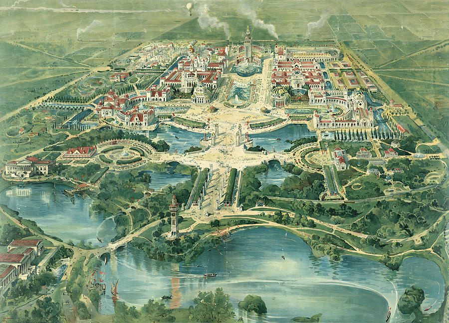 1901 Painting - Pan-american Exposition by Granger