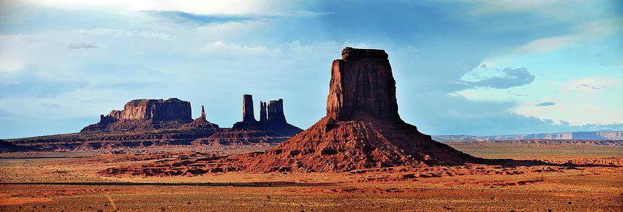 Panorama Of North Window Area Monument Photograph by Utah-based Photographer Ryan Houston