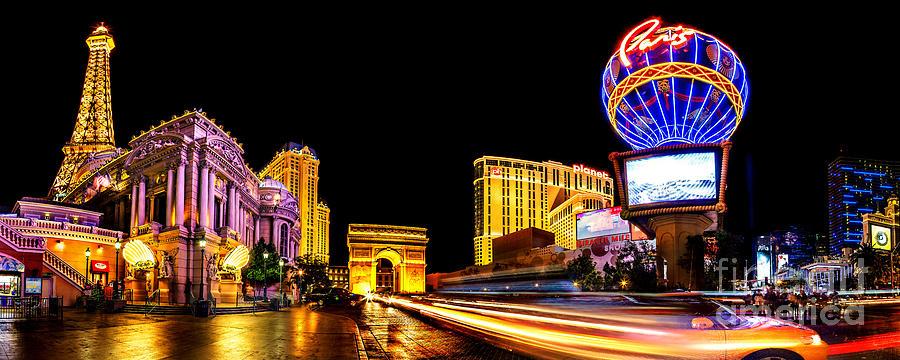 Las Vegas Photograph - Paris On The Strip by Az Jackson