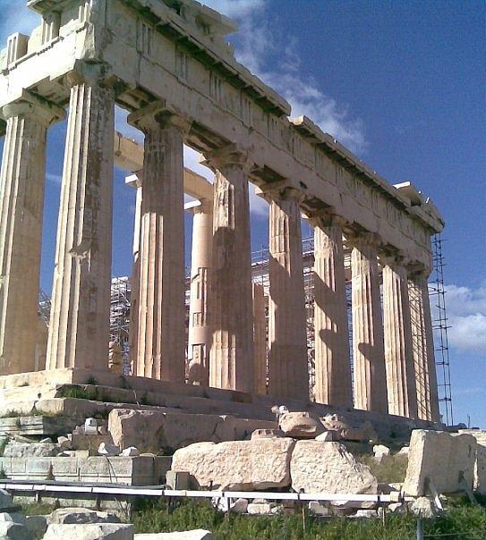 Parthenon Photograph - Parthenon by Katerina Kostaki