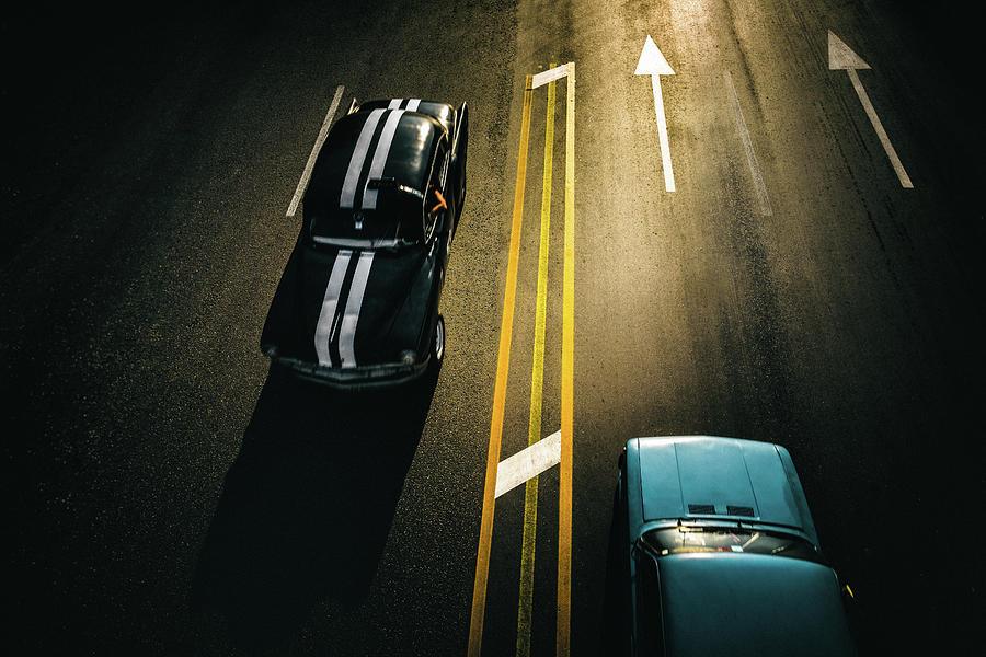 Cuba Photograph - Passing Cars by Yancho Sabev
