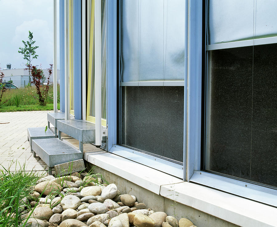 Passive Solar Heating by Martin Bond/science Photo Library