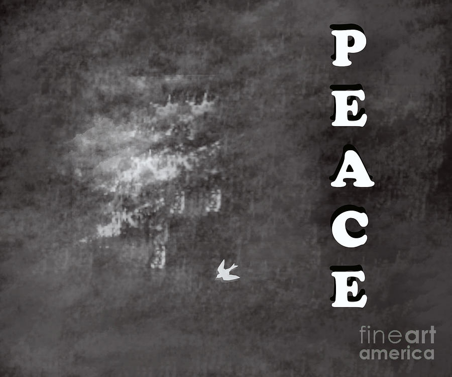 Peace Painting - Peace by Trilby Cole