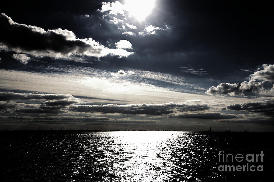 Clouds Photograph - Peaceful Evening by Four Hands Art