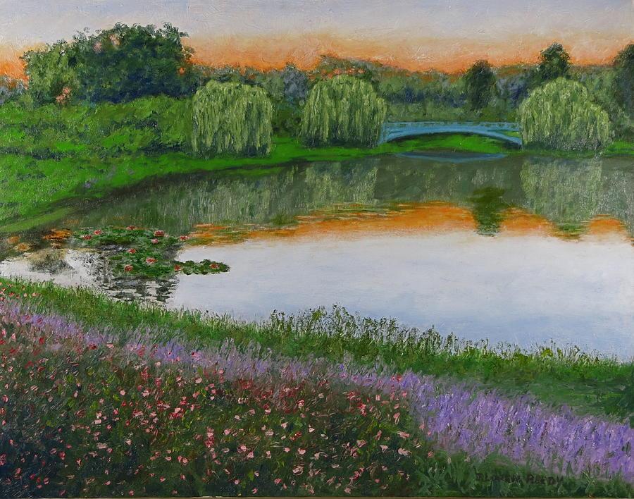 Peaceful Pond by J Loren Reedy