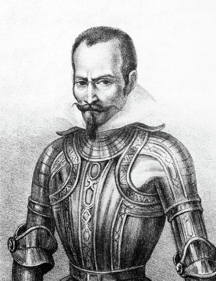 16th Century Painting - Pedro De Alvarado (1495?-1541) by Granger