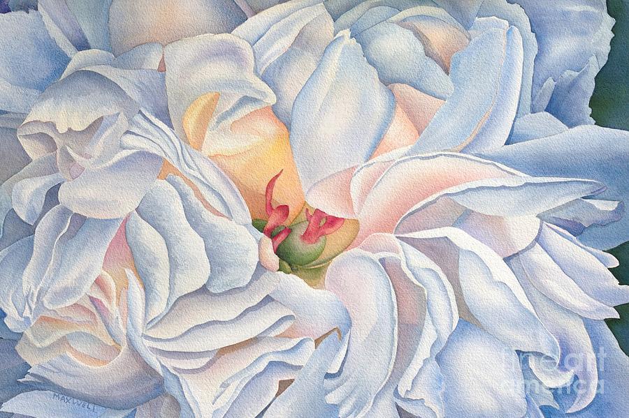 Peony I Painting by Melissa Maxwell