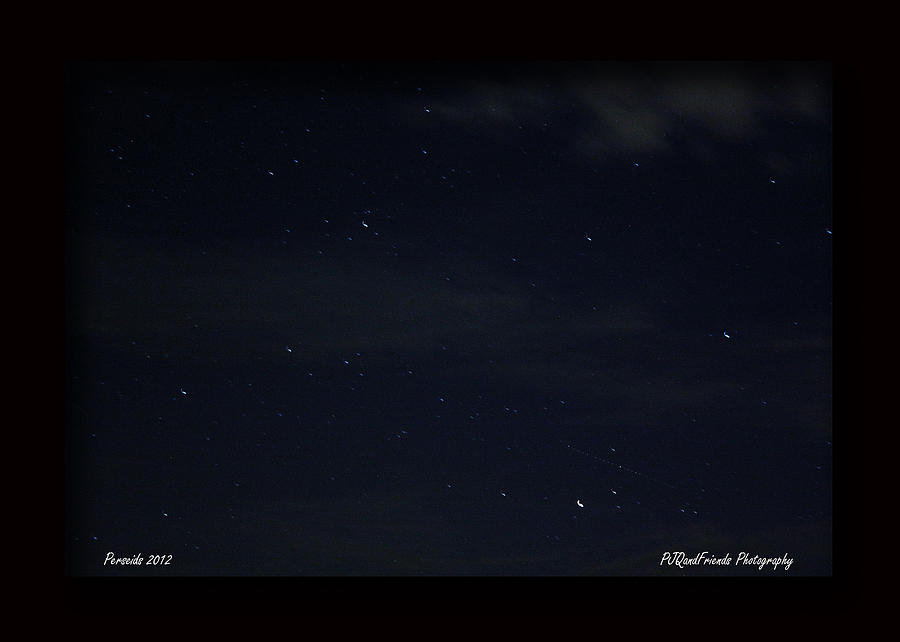 Perseid Meteor Shower Photograph - Perseid Meteor by PJQandFriends Photography