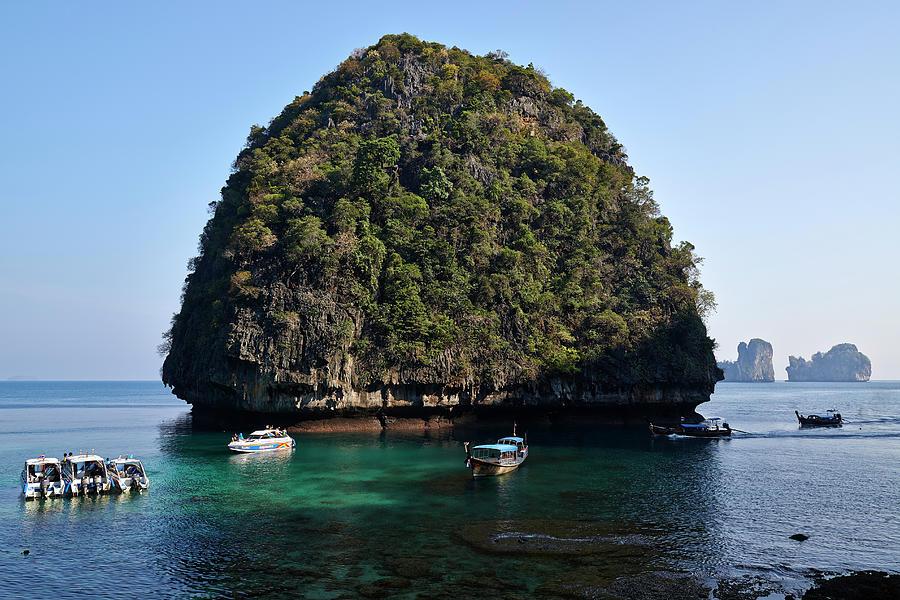 Phi Phi Island, Thailand Photograph by Andrea Pistolesi