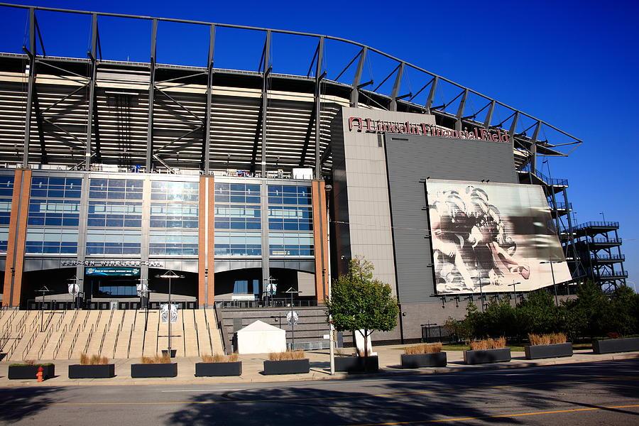 America Photograph - Philadelphia Eagles - Lincoln Financial Field by Frank Romeo