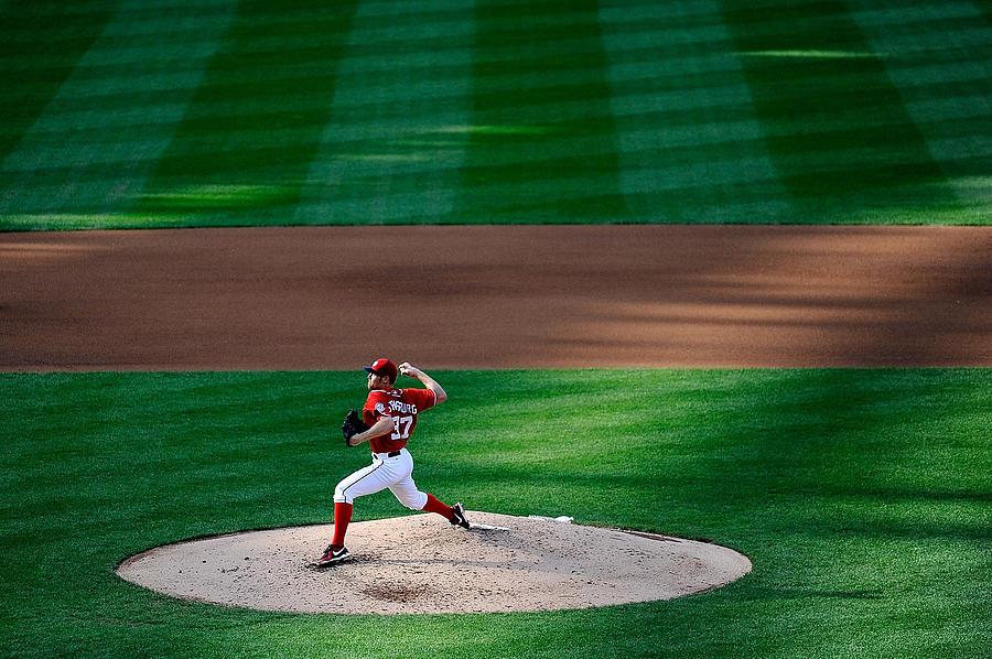 Philadelphia Phillies V Washington Photograph by Patrick Mcdermott