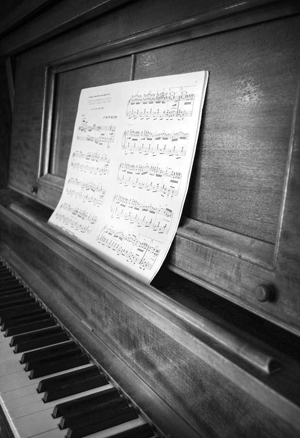 Piano Photograph - Piano Man by Jerry Cordeiro