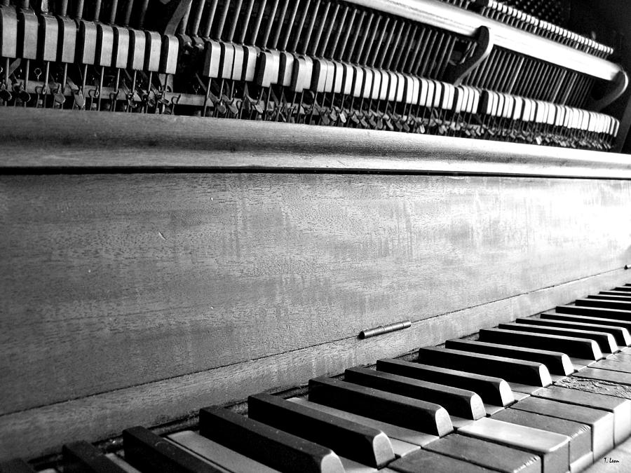Piano Photograph - Piano by Thomas Leon