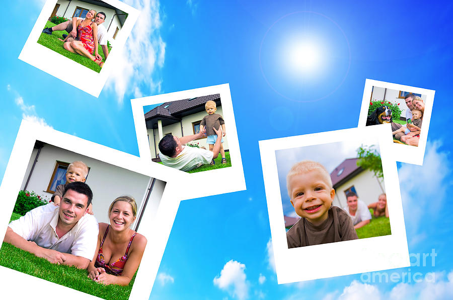 Background Photograph - Pictures Of Happy Family by Michal Bednarek
