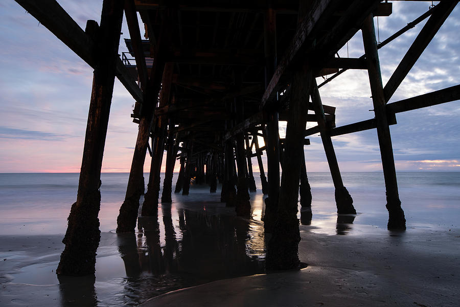 Horizontal Photograph - Pier In The Pacific Ocean, San Clemente by Panoramic Images