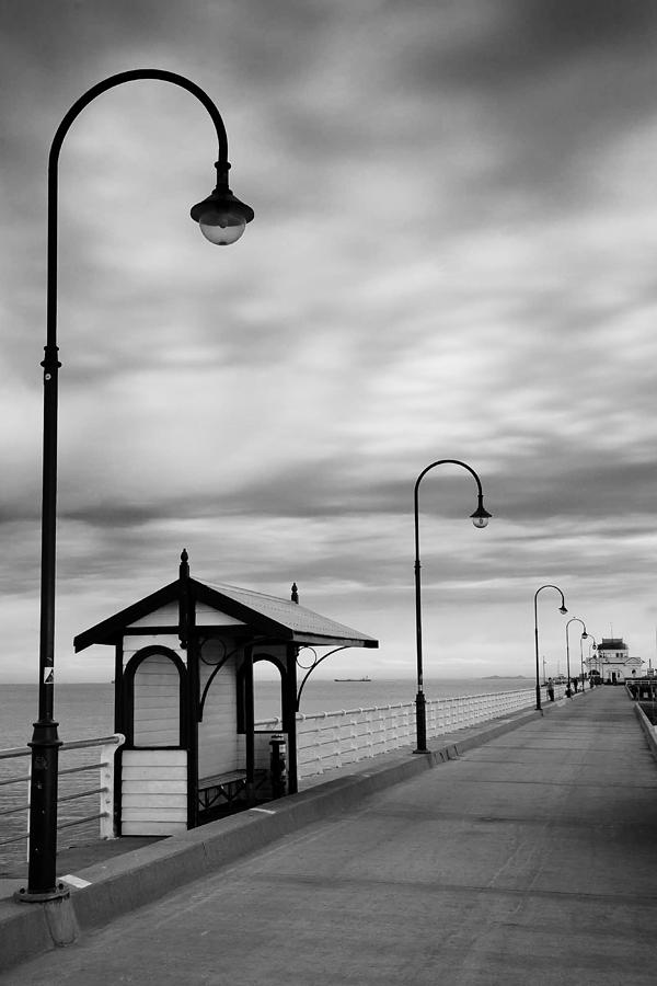 Au Photograph - Pier Into The Past by Shari Mattox