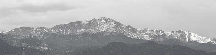 Pikes Peak Photograph - Pikes Peak Colorado by Amber Davenport