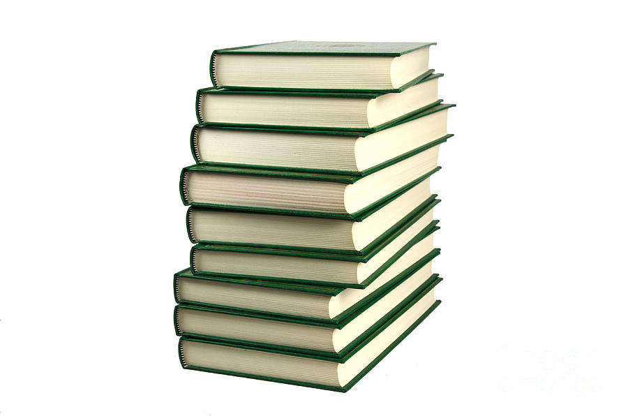 Background Photograph - Pile Of Books by Kennerth and Birgitta Kullman