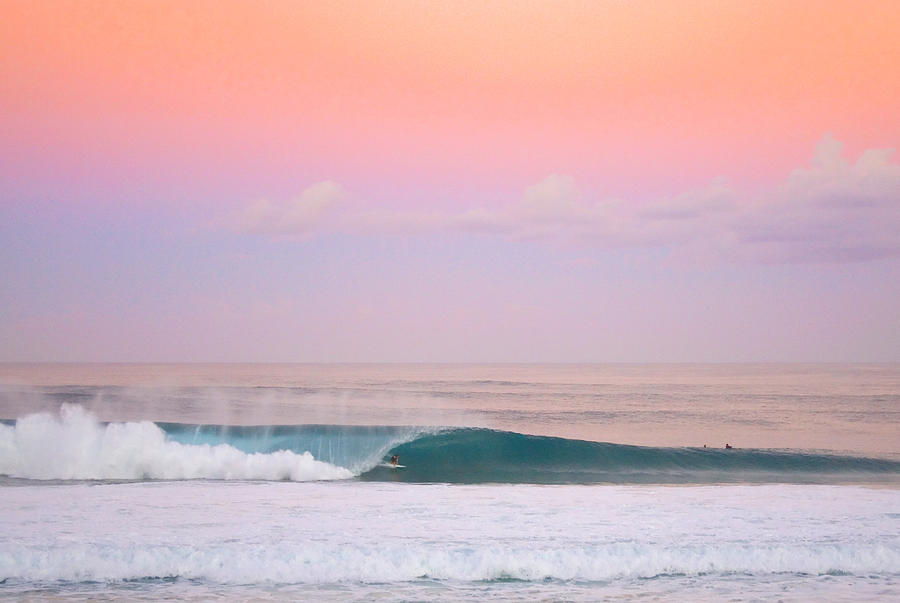 Pipeline Photograph - Pink Pipe by Sean Davey