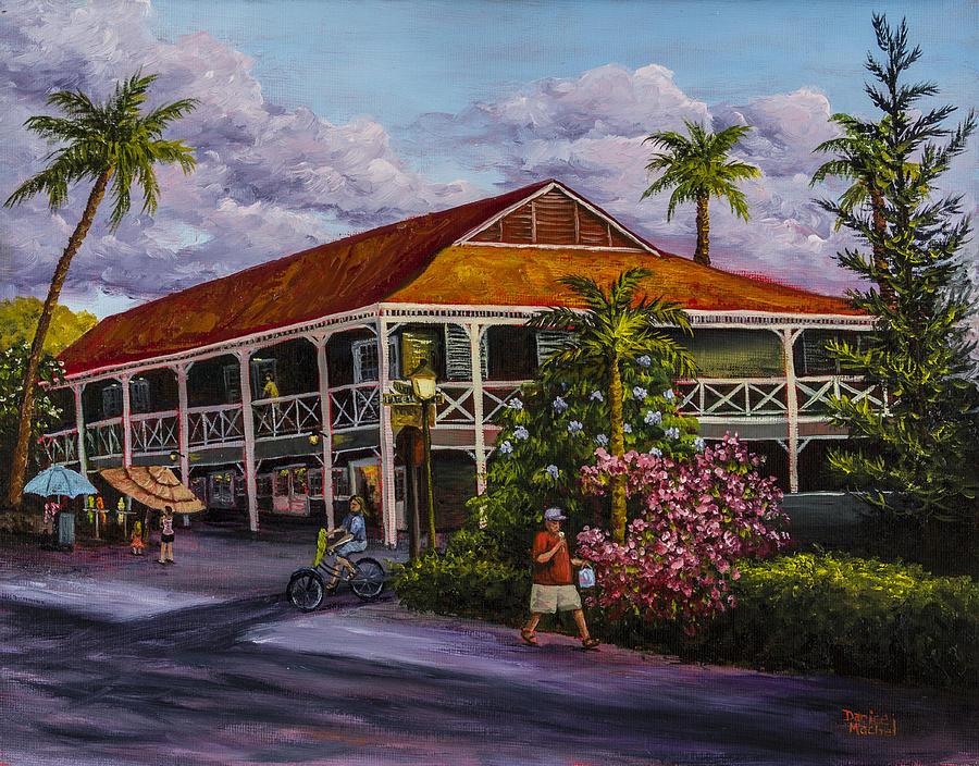 Building Painting - Pioneer Inn Lahaina by Darice Machel McGuire