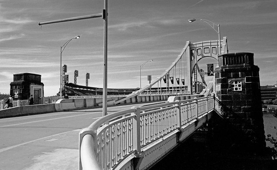 Allegheny Photograph - Pittsburgh - Roberto Clemente Bridge by Frank Romeo