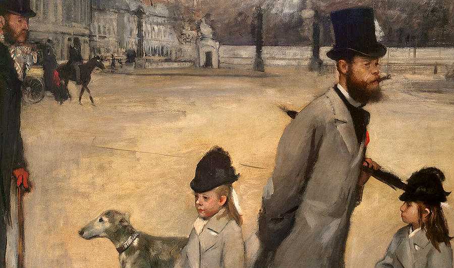Place De La Concorde Painting - Place De La Concorde by Edgar Degas