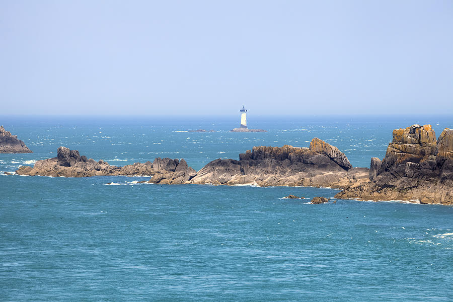 Lighthouse Photograph - Pointe Du Grouin - Brittany by Joana Kruse
