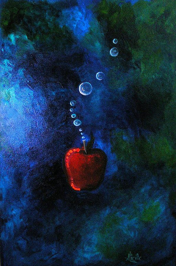 Apple Painting - Pomum by Alicia Hayes