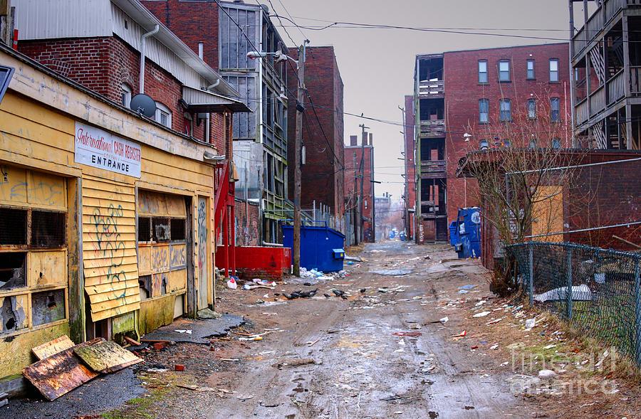 Poor Urban Neighborhood Photograph By Denis Tangney Jr
