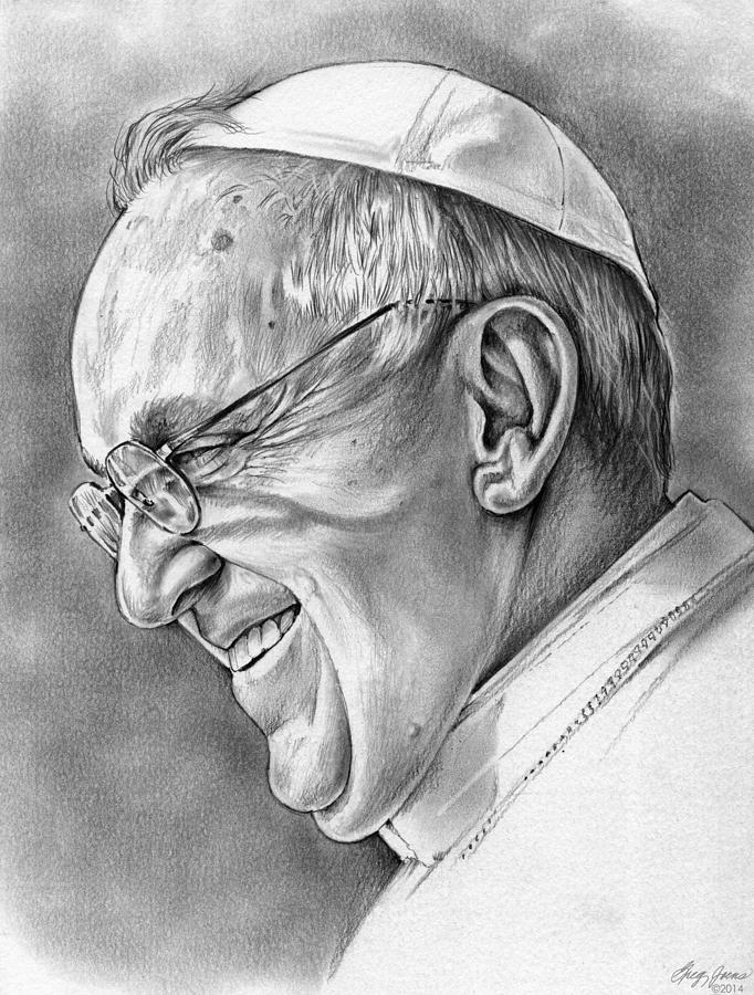 Pope Francis Drawing