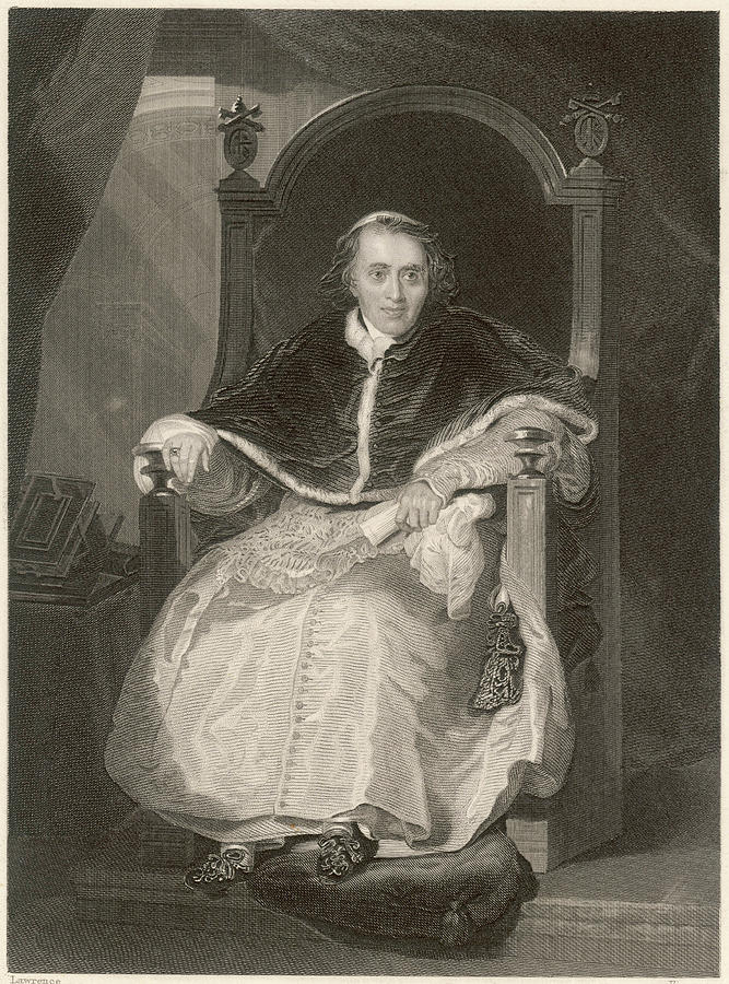Pope Drawing - Pope Pius Vii (luigi Barnabo by Mary Evans Picture Library