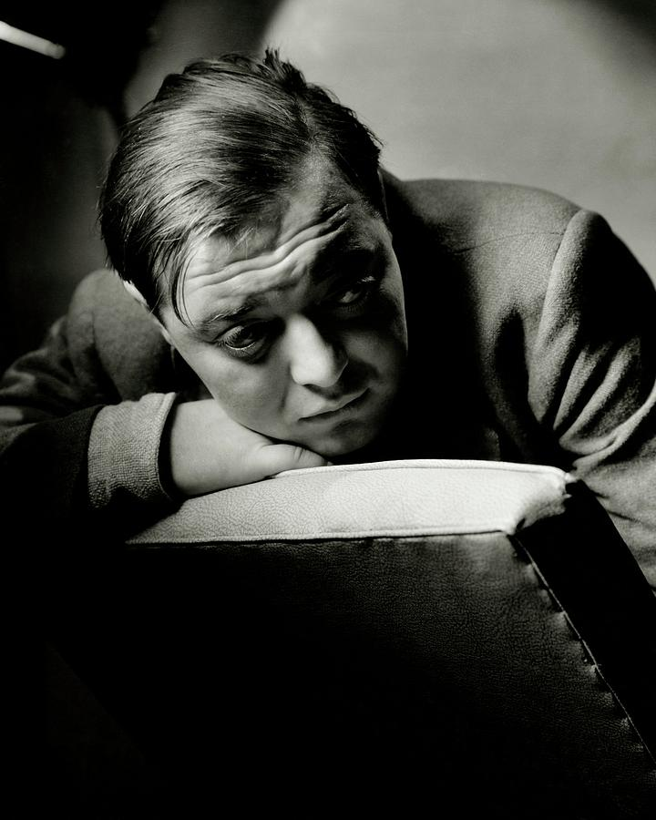 Portrait Of Actor Peter Lorre Photograph by Anton Bruehl