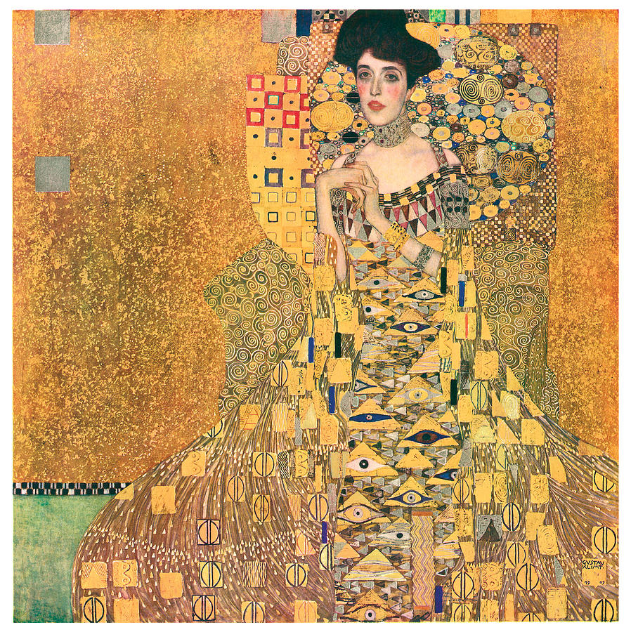 portrait of adele bloch bauer i painting by gustav klimt. Black Bedroom Furniture Sets. Home Design Ideas