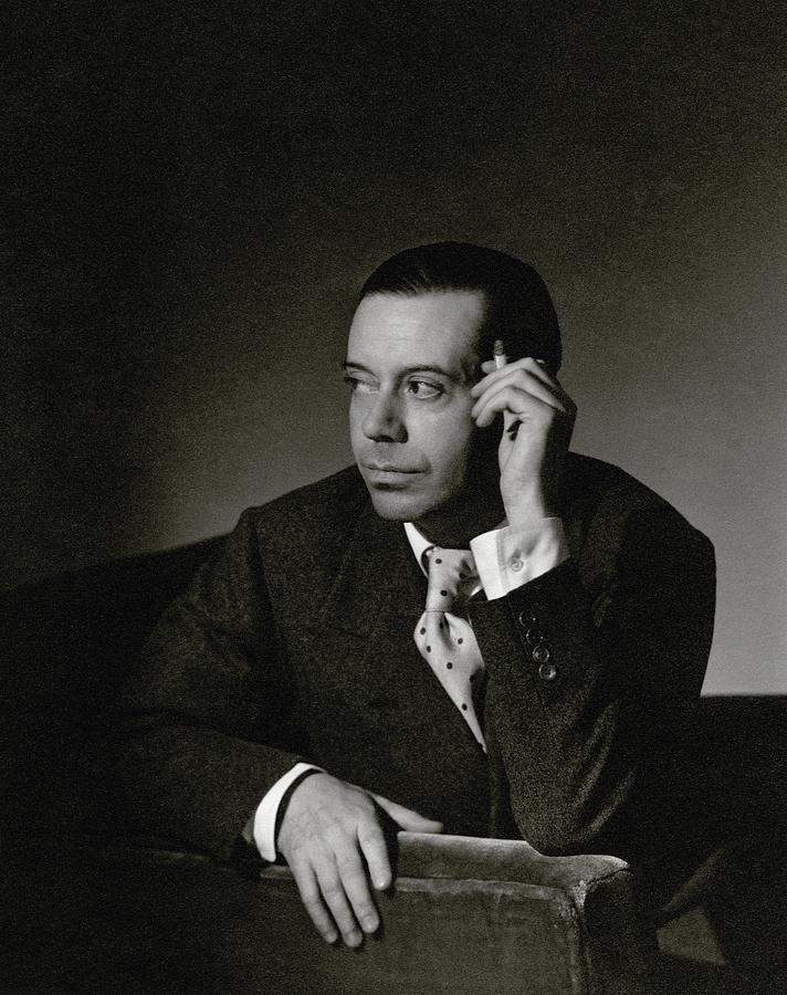 Portrait Of Cole Porter 1 Photograph by Horst P. Horst
