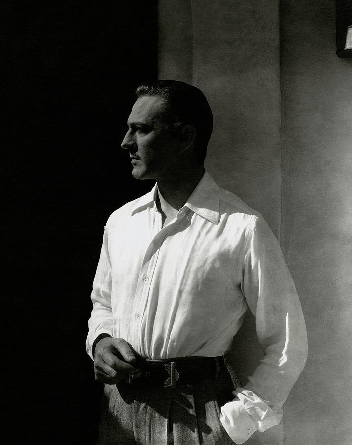 Portrait Of John Barrymore Photograph by Edward Steichen