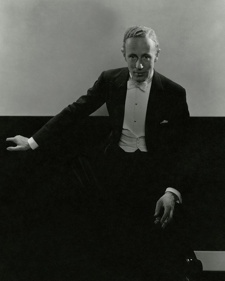 Portrait Of Leslie Howard Photograph by Edward Steichen