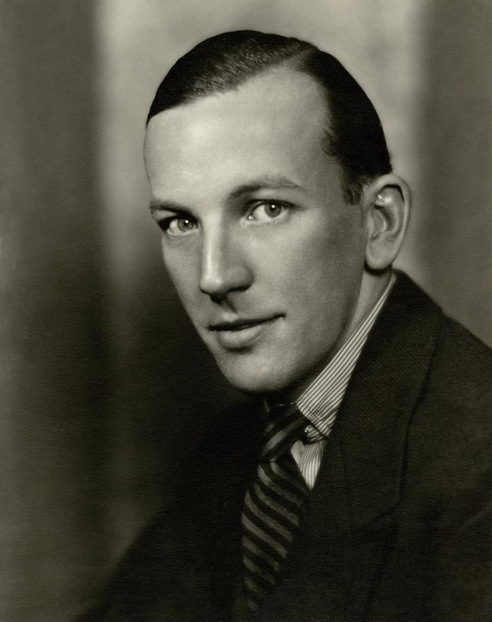 Portrait Of Noel Coward Photograph by Nickolas Muray