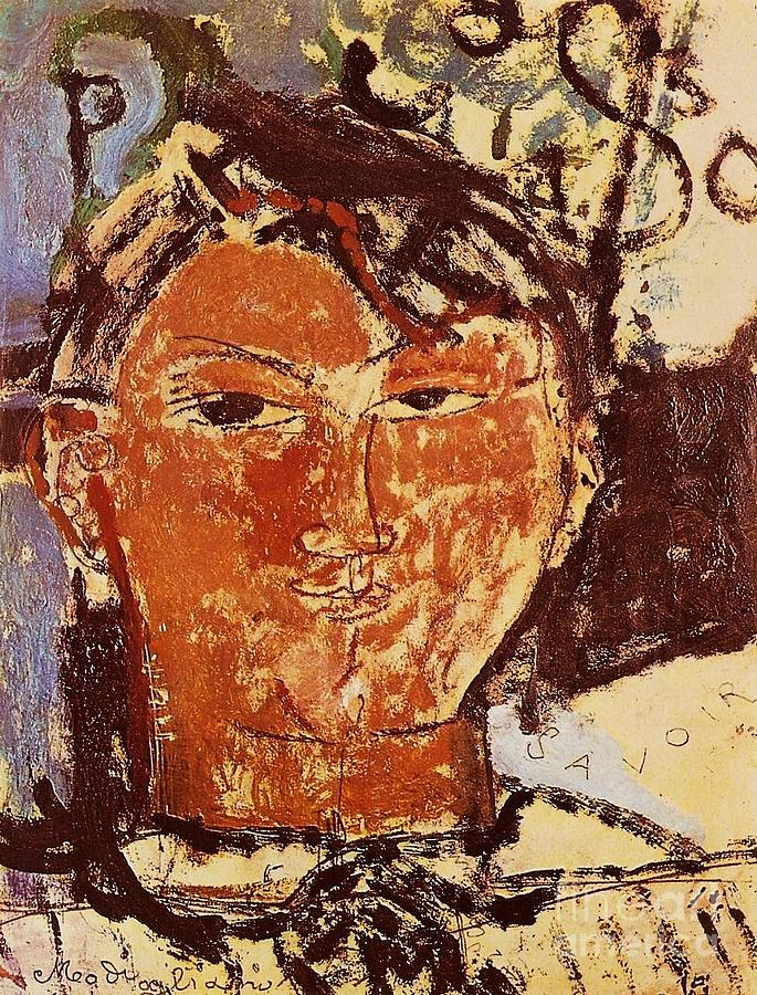 Pd Painting - Portrait Of Picasso by Pg Reproductions