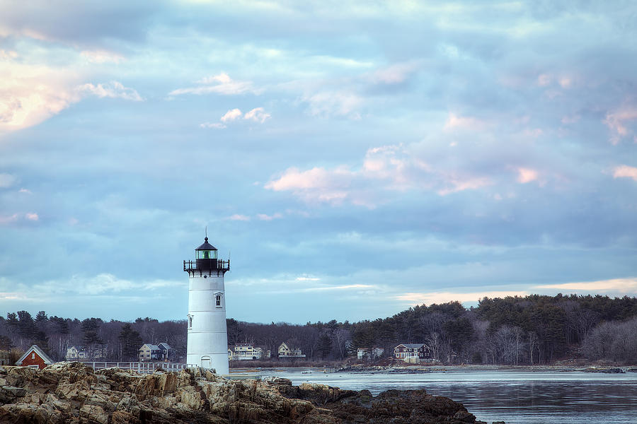 Portsmouth Harbor Light Photograph - Portsmouth Harbor Light by Eric Gendron