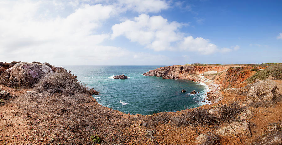 Portugal, View Of Coastline Photograph by Westend61