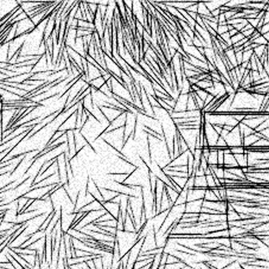 Etch-a-sketch Drawing - Postmodern Abstraction by Jonathan Harnisch