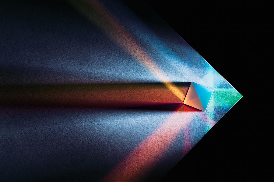 Powerful and Colorful Light Refraction Photograph by MirageC