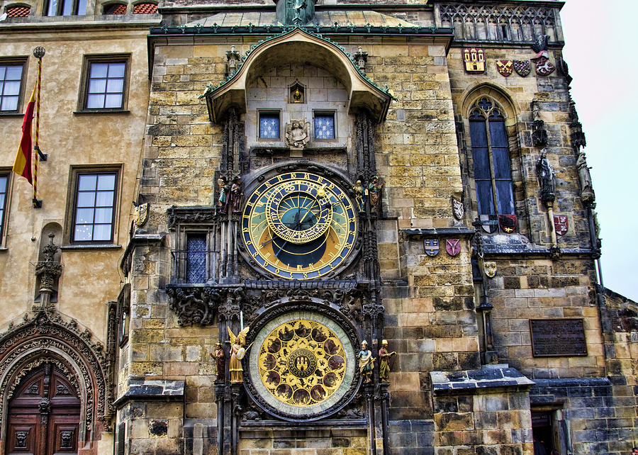 Prague Astronomical Clock Photograph By Jon Berghoff