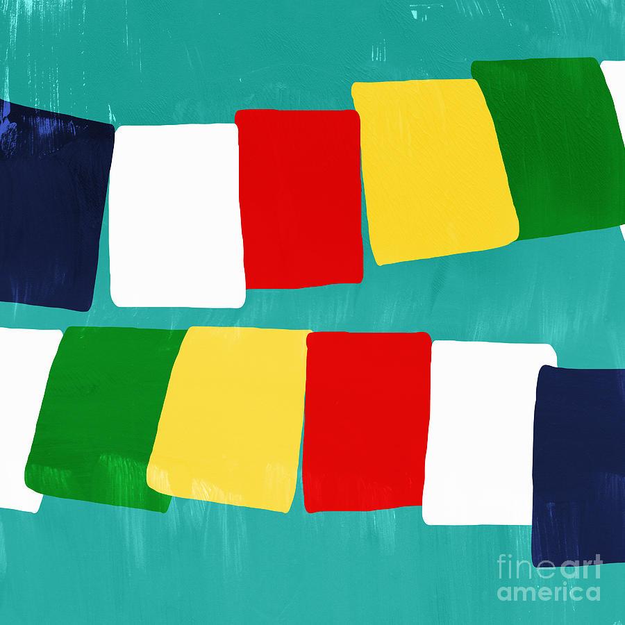 Prayer Flags Painting