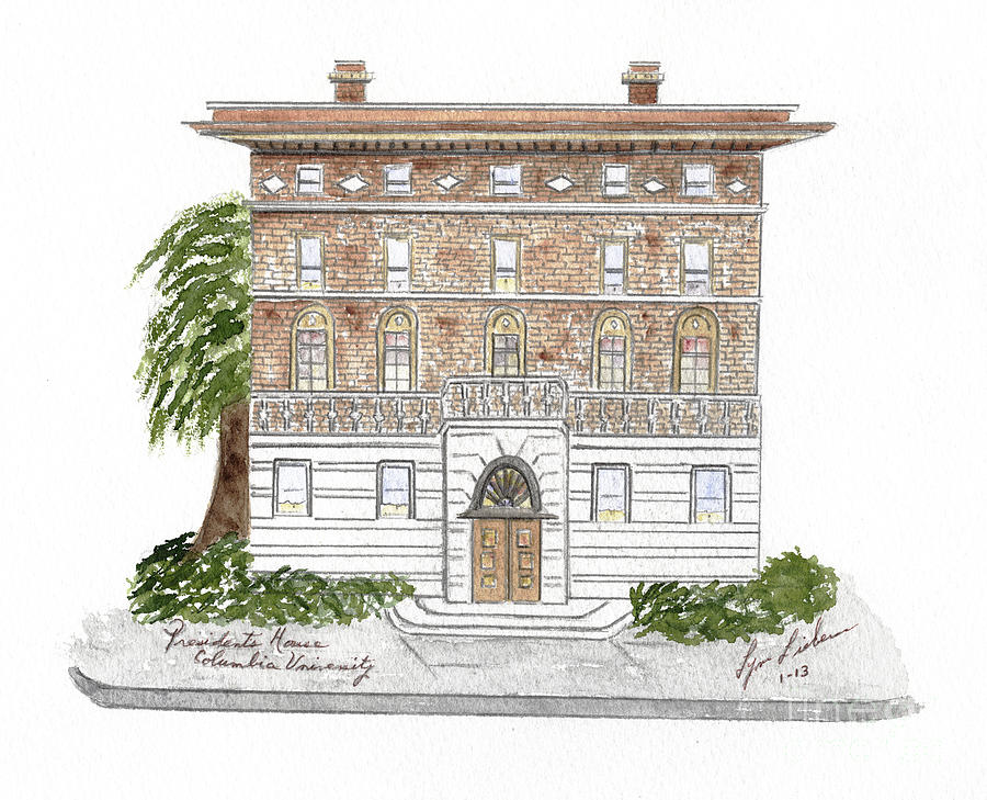 President's House-Columbia University by AFineLyne