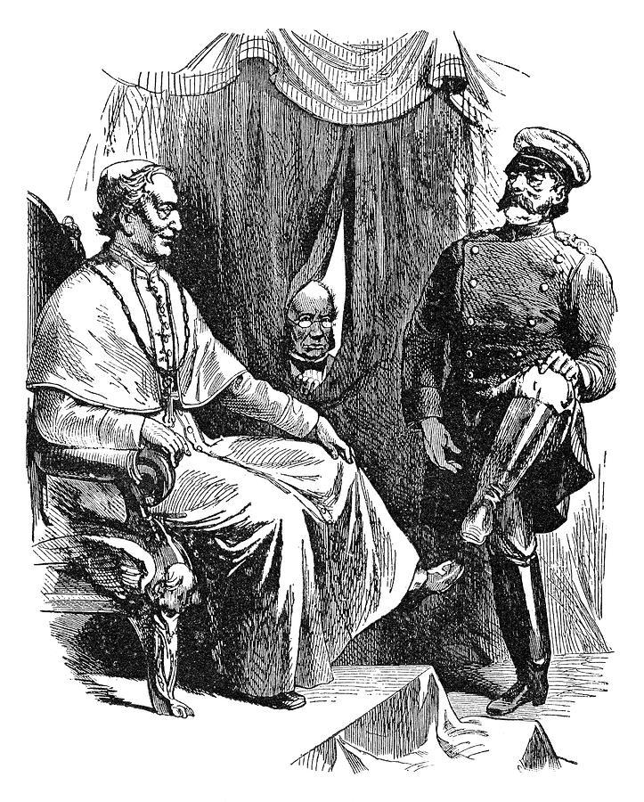 1878 Painting - Prince Otto Von Bismarck (1815-1898) by Granger