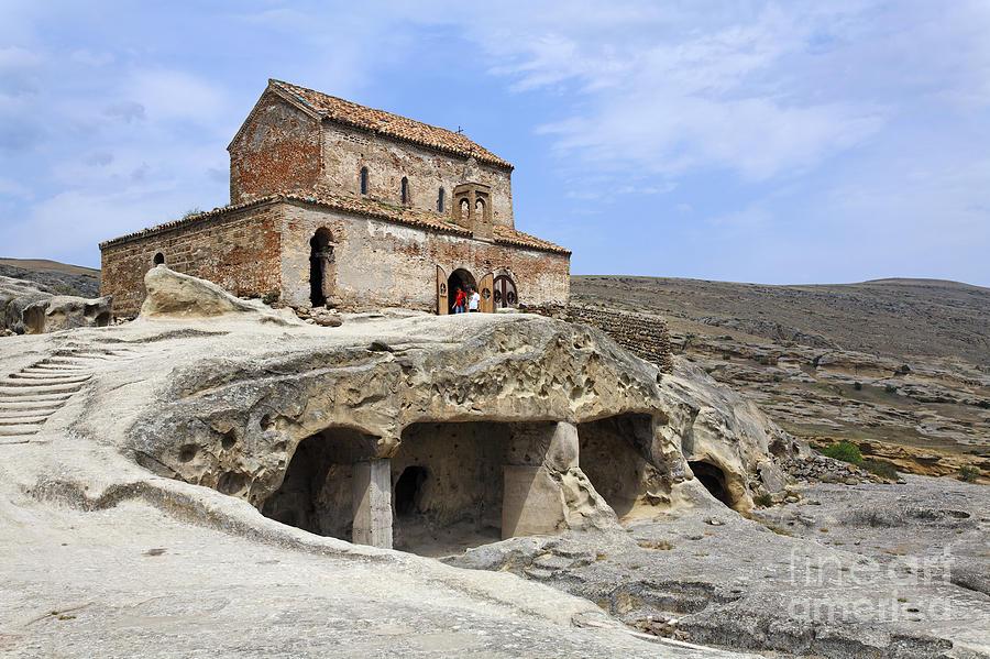 Gori Photograph - Princes Church In Uplistsikhe Gori Georgia  by Robert Preston