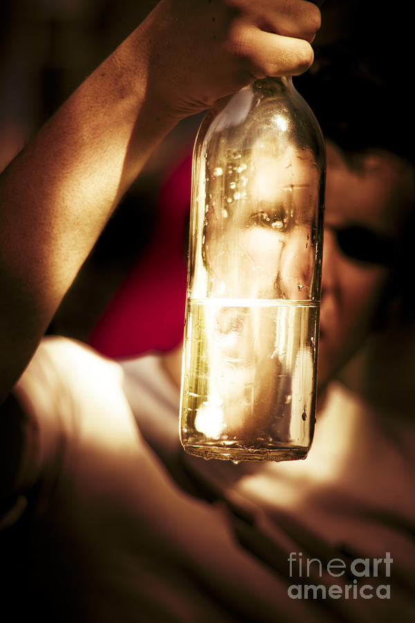 Alcohol Photograph - Problems by Jorgo Photography - Wall Art Gallery