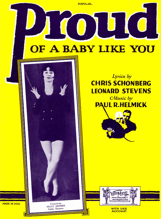 Proud of a Baby Like You by Mel Thompson